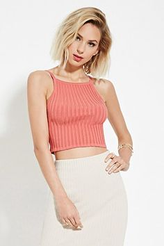 ¡Cómpralo ya!. Ribbed Crop Top. details   A crop top crafted from ribbed knit with cami straps, a square neckline, and a square-cutout back.  Content + Care   - 84% cotton, 15% polyester, 1% spandex- Hand wash cold- Made in China  Size + Fit  - Model is 5'8%22 and wearing a Small- Full length: 15%22- Chest: 24%22- Waist: 22%22 , topcorto, croptops, croptop, croptops, croptop, topcrop, topscrops, cropped, topbailarina, corto, camisolacorta, crop, croppedt-shirt, kurzestop, topcorto…
