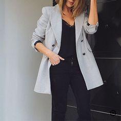 """1,803 """"Μου αρέσει!"""", 79 σχόλια - M  A  R  G  A  R  I  T  A  (@ritamargari) στο Instagram: """"Today wearing gray and black   Screenshot or 'like' this pic to shop the product details from the…"""""""