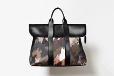 3.1 Phillip Lim Men's 31 Hour Bag Dark Camo