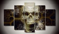 5 Piece Skull By Numbers Fallout Picture Painting Wall Art https://www.skullflow.com/collections/wall-arts/products/5-piece-skull-by-numbers-fallout-picture-painting-wall-art