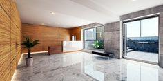 Lobby Edificio Bau10 Lobbies, Architecture Design, Bathtub, Portal, Entry Hall, Architecture, Receptions, Wood, Landing