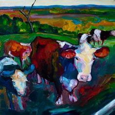 New Gloucester Cows..Elizabeth Fraser
