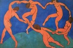 Henri Matisse – la danse, 1909-1910 http://beautyrealism.wordpress.com/2008/02/12/henri-matisse-la-tristesse-du-roi/