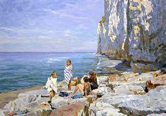 "Krotov Yuri "" At the rocks."""