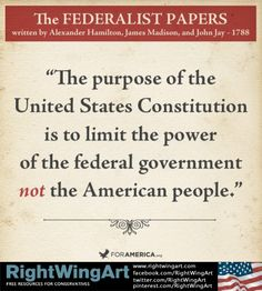Constitution limits Government!!