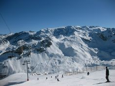 Courchevel, France - We lived close to Courchevel in Brides-les-bains