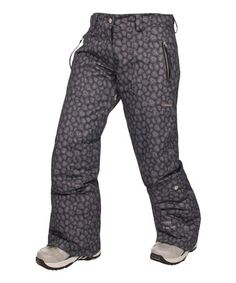 This Black Kristen Ski Pants by Trespass is perfect! #zulilyfinds $45