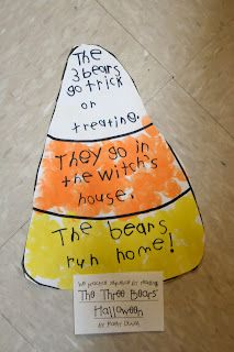 great idea for making connections text - to - text. Could also use with Harriet's Halloween candy Kindergarten Reading, Kindergarten Classroom, Teaching Reading, Teaching Tools, Teaching Ideas, Guided Reading, Montessori Elementary, Teaching Resources, School Holidays