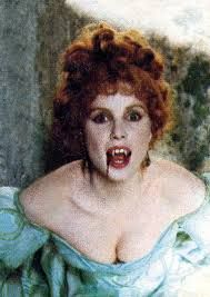Sadie Frost as Lucy Westenra in Dracula (1992).
