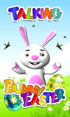 The cutest talking bunny is finally here, and he will make Easter holiday even more amazing! The rabbit can dance, talk to you and you can tickle or slap him for fun! Download free Talking Bunny Easter game app and have fun with your new virtual pet. This animal is the symbol of Easter, and he is the coolest rabbit you have ever met! He lives in a big house and he will show you all of his beautiful rooms – the gorgeous living room, the bedroom, but the gym and the playground as well!