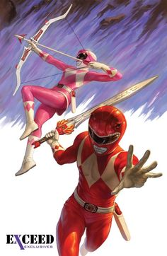 Mighty Morphin Power Rangers #2 Exceed Exclusives Variant
