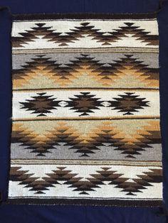 Alfombra Navajo por BlackMesaWeaver en Etsy