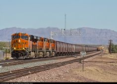 RailPictures.Net Photo: BNSF 6976 BNSF Railway GE ES44C4 at Amboy , California by David Carballido-Jeans