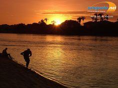 Pôr do sol - Rio Araguaia