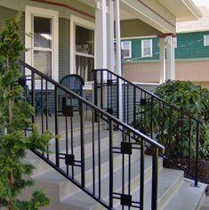 bungalow exterior handrails - Google Search