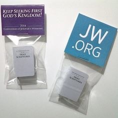 @waiwera.dave made these mini Bible magnets for the regional convention and for the August tract campaign. Submit your photos etc…