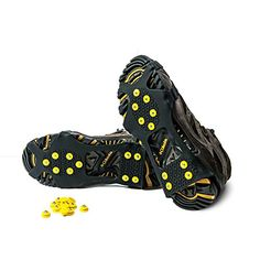 Alps Icegrips Snow Traction Gear Slip on Snow and Ice Cleat Traction Prevent Slipping Plus 10 Extra Replacement Steel Studs X Large -- Learn more by visiting the image link.