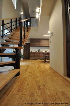 住宅スタイルから探す:ナチュラル | 無垢フローリング・無垢材・無垢内装材|マルホン