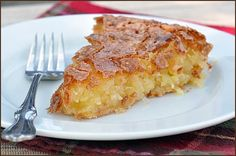 French coconut pie #pie #coconut - Click image to find more dessert Pinterest pins