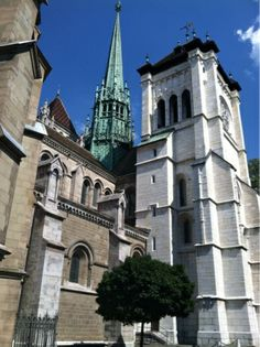 St. Pierre's, Geneva, Switzerland. This is where John Calvin preached and taught.