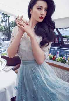 Fan Bingbing in Jenny Packham photographed by Chen Man for Cosmopolitan China, August Fan Bingbing, Asian Woman, Asian Girl, My Fair Princess, Jenny Packham, Chinese Actress, Beautiful Actresses, Girl Crushes, Asian Beauty