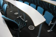 University of Birmingham swivel seated lecture theatre