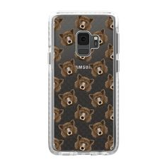 CASETiFY Galaxy S9 Case - Grizzly Bear Pattern by Art Love Passion 419c937be40
