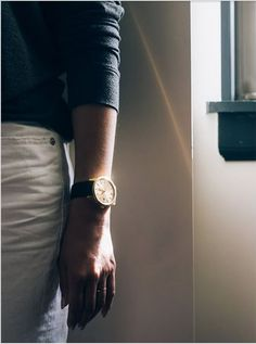 Gorgeous photography by Alice Gao feat. the Larsson & Jennings Saxon Gold watch Larsson & Jennings, Gao, Minimalist Design, Gold Watch, Alice, Unisex, Photography, Style, Swag