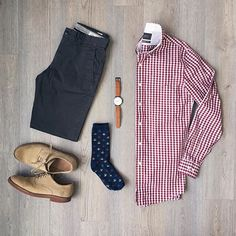 Outfit grid - Dapper style
