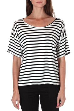 This classic comfortable andstrippedtee is extremely comfortable. Pair withjeans and flats or toss on with a blazer and wear to work.  Classic-Nautical Striped Tee by ColorThread. Clothing - Tops - Casual Clothing - Tops - Short Sleeve Clothing - Tops - Tees & Tanks Los Angeles California