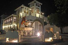 Casa de España in Puerto Rico -- T night