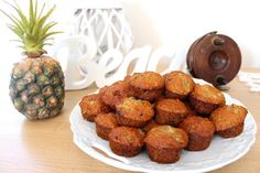 Dairy and Egg Free Banana Muffins and a Vegie Patch Make Over