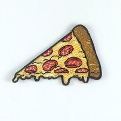 Parche de rebanada de pizza / hierro-en por WildflowerandCompany