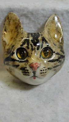 Winstanley Cat Head Wall Plaque