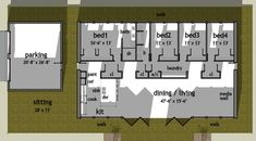 Contemporary Modern Level One of Plan 67545