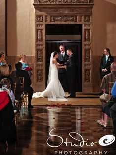I like the glossy, marble floor rather than a runner.  no table at the altar, either
