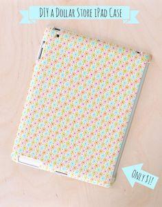 DIY iPad case made for a dollar