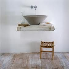 Cement washbasin!