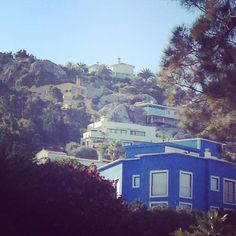 La casa azul. Blue house