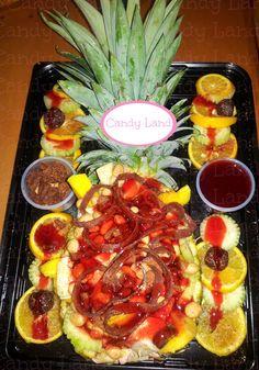 Riquisimas Roscas de Frutas para cual quier evento   Deliciosas Manzanas Preparadas   Deliciosas Piñas preparadas !PÍDELAS YA!
