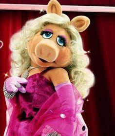 Miss Piggy - sassy!