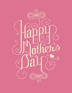 Pink-happy-mothers-day-card-design