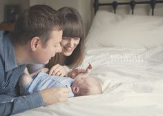 Natural Family photography. New baby