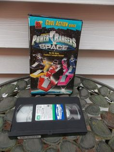 Power Rangers in Space (VHS, 1999)