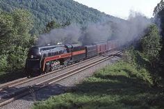 No. 611 on a 1993 excursion near Arrowhead, Va. AlexMayes