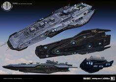 ArtStation - Tigris Concept Design - Call of Duty: Infinite Warfare , Thomas A. Szakolczay