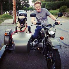 Conan O'Brian 2015 Ural Motorcycles Introduction