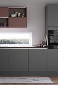 Eksklusivt kjøkken med rene linjer av høy kvalitet: Model Focus | HTH