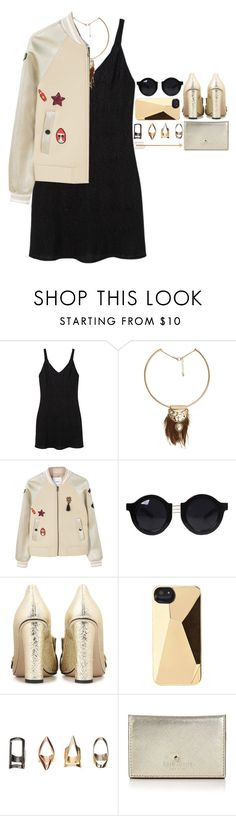 """4905"" by tiffanyelinor ❤ liked on Polyvore featuring MANGO, Gucci, Marc by Marc Jacobs and Kate Spade"