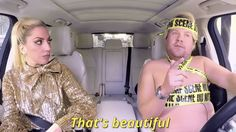 lady gaga james corden carpool karaoke thats beautiful trending #GIF on #Giphy via #IFTTT http://gph.is/2eUWYdA